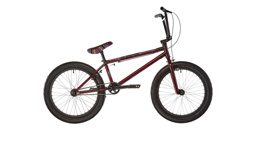 Stereo Bikes Plug In Sierra Burgundy Raw
